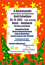 Adventsmarkt Plakat